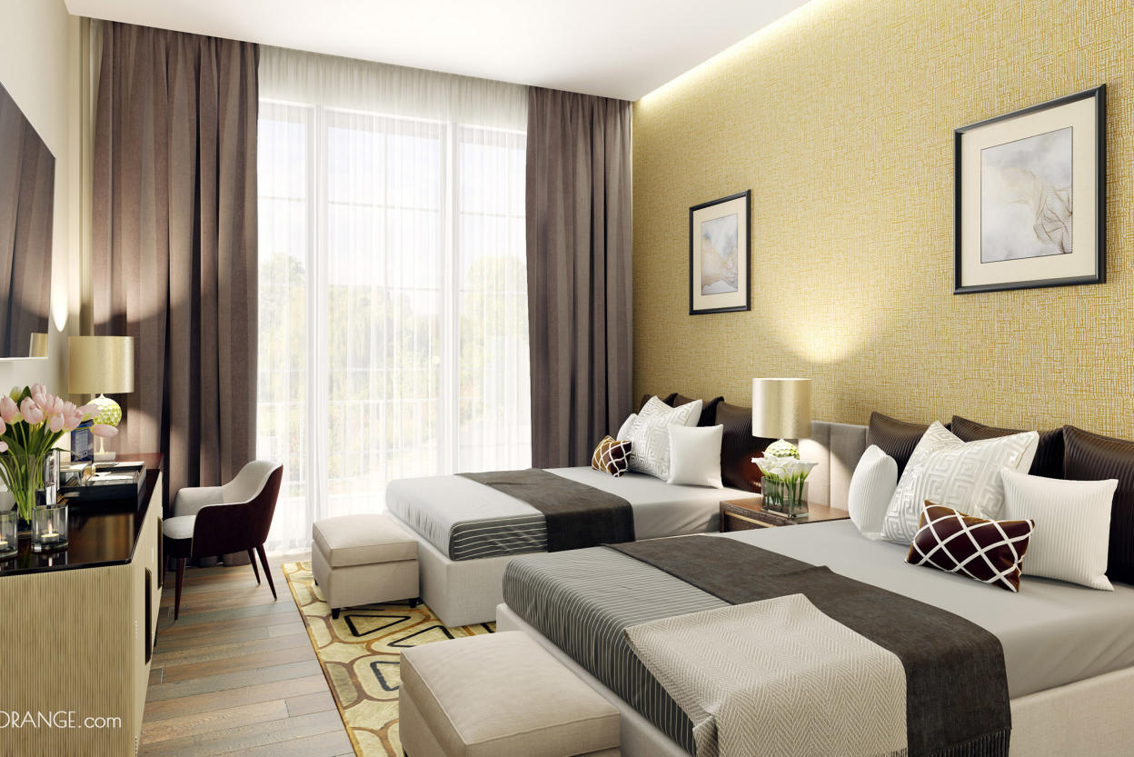 Beige Suite Interior