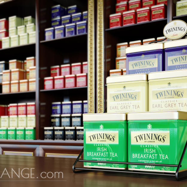 Twinings Tea Interior