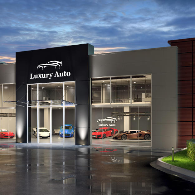 Luxury Auto Showroom
