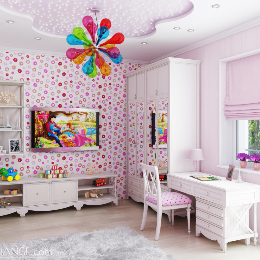 Kids room for girl